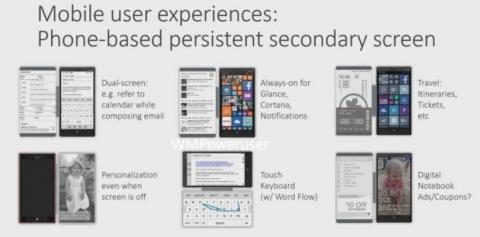 Funda con pantalla secundaria para el Lumia