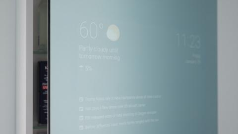 Espejo inteligente con Android
