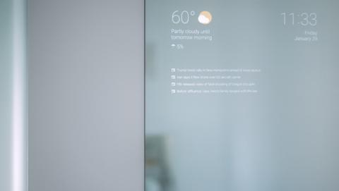 Espejo futurista desarrollado por un ingeniero
