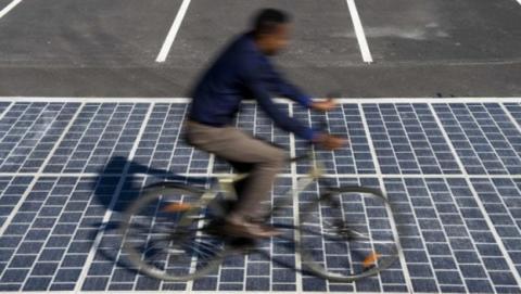Paneles solares fotovoltaicos de Wattway