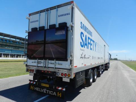 Camión de seguridad de Samsung