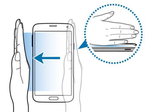 Hacer captura de pantalla en un Samsung Galaxy