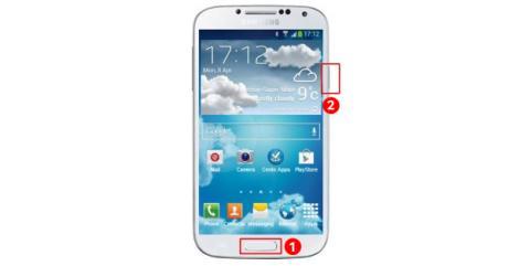 Hacer una captura de pantalla en un Samsung Galaxy