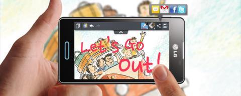 Hacer una captura de pantalla en un LG