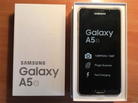 caja y dispositivo del A5 2016