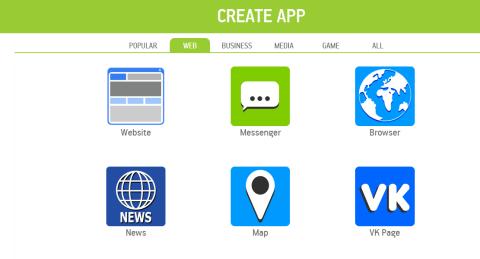 Comienza a crear tu app