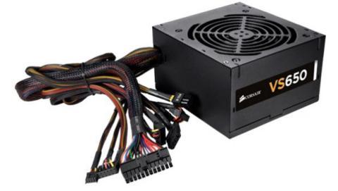 Las fuentes de alimentación más antiguas o económicas no cuentan con un sistema de gestión de cables.