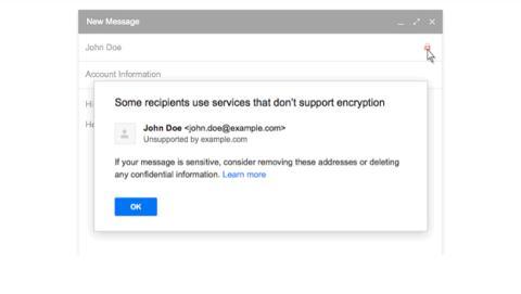 Nuevas medidas de seguridad en Gmail