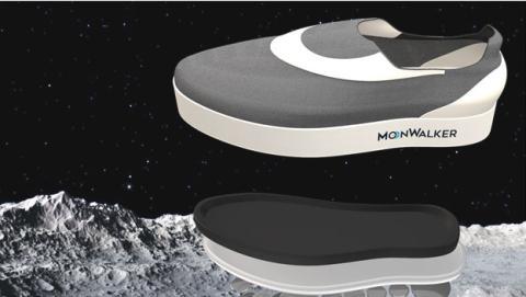 Zapatos para andar en la luna