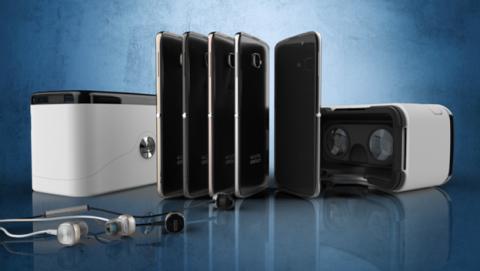 Alcatel OneTouch Idol 4S con gafas de realidad virtual