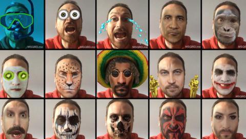 MSQRD Masquerade app
