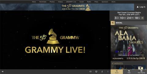 Dónde ver los Grammy 2016