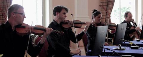 Cuarteto de cuerda The Paramusical Ensemble