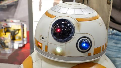 BB-8 de Star Wars a tamaño real