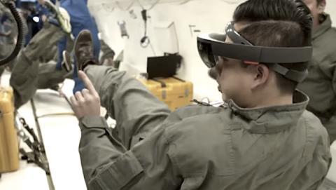 La NASA utiliza las HoloLens con los astronautas