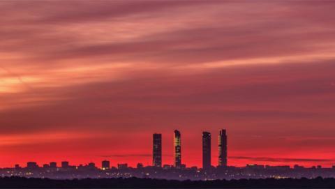 "Timelapse de ""Madrid desde mi balcón"""