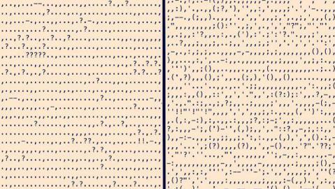 Comparación entre la puntuación de los novelistas