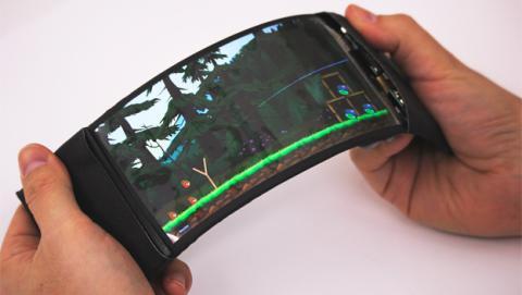 movil flexible, pantalla flexible, reflex