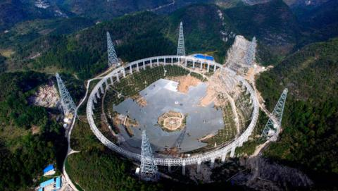 radiotelescopio de china para encontrar aliens