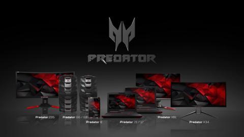 La familia Predator de Acer, al completo