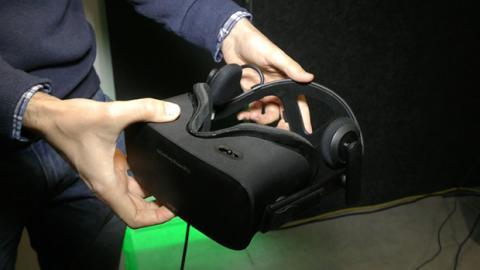 Oculus Rift en presentación de Nvidia VR ready