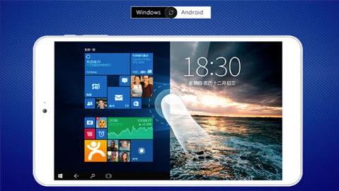 que la Onda V820w CH cuenta con un sistema de arranque dual que permite pasar de Android 5.1 a Windows 10