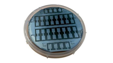 micro supercondensador de carbono