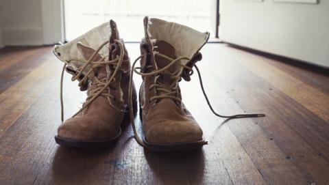 bacterias en los zapatos