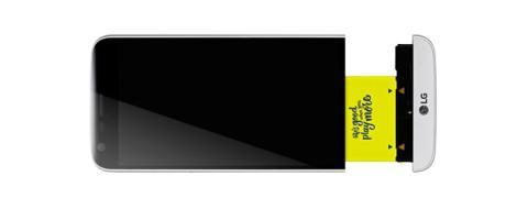 Las piezas modulares del LG G5