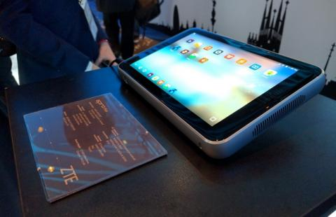 ZTE Spro Plus, una tablet con proyector incorporado