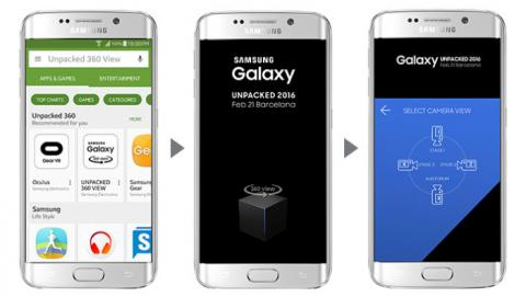 Samsung Unpacked Android