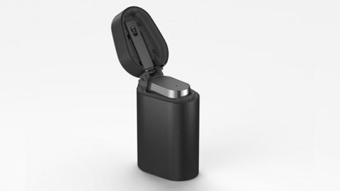 Sony Xperia Ear, con la funda que funcionará a modo de cargador