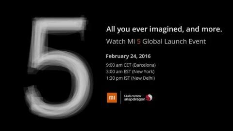 Presentación en directo del Xiaomi Mi5 en el MWC 2016