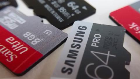 tarjeta microSD SanDisk