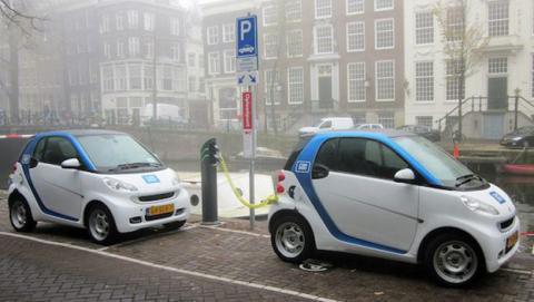Coches eléctricos en Europa