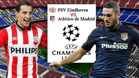 PSV vs Atlético de Madrid, cómo ver psv atletico, ver online psv atletico, psv atletico madrid