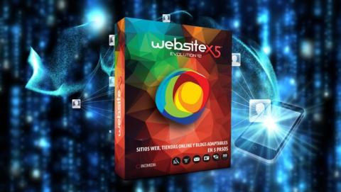 Crea páginas webs sin programar con WebSite X5 Evolution 12