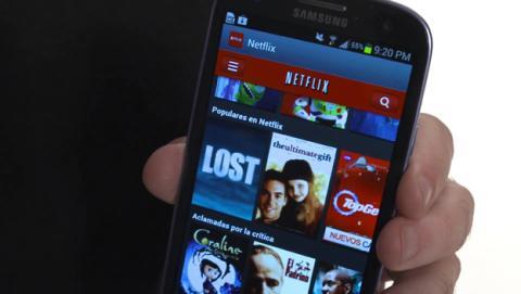 Ahorro de datos en Netflix en el móvil