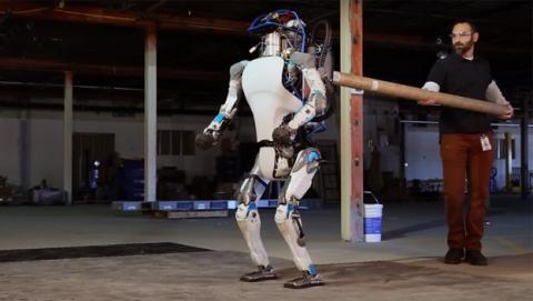 Robot Atlas, de Boston Dynamics