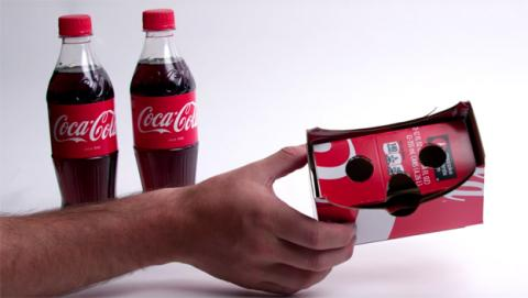 Coca Cola Cardboard