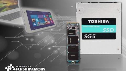 Toshiba anuncia el nuevo SG5 SSD con memoria Flash