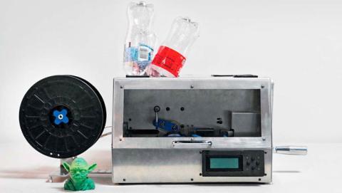 filamento reciclado impresora 3D