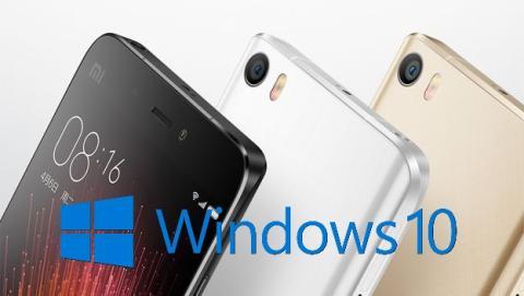 Xiaomi Mi5 y OnePlus 2 podrían recibir Windows 10 Mobile