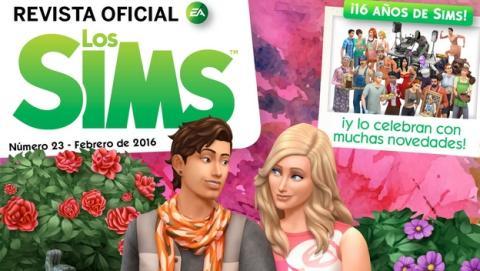 Los Sims cumplen 16 años en la Revista Oficial de los Sims número 23