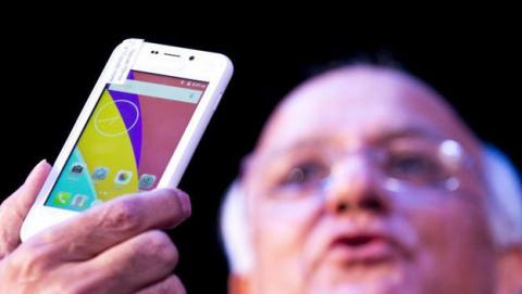 Smartphone indio Freedom 251 de Ringiging Bells