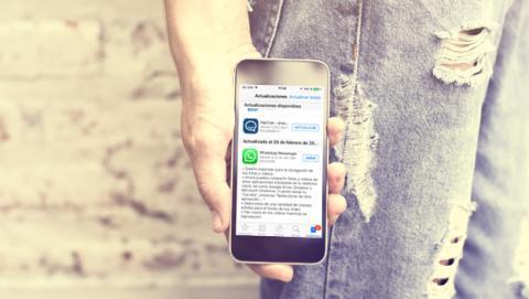 Actualización de WhatsApp para los iPhone y iPad