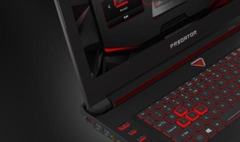 Los ordenadores portátiles de la gama Predator de Acer, el Predator 15 y el Predator 17