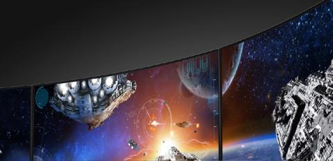 Monitores con la pantalla curvada en la gama Predator