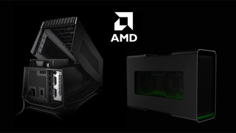 amplificador de gráficos de AMD