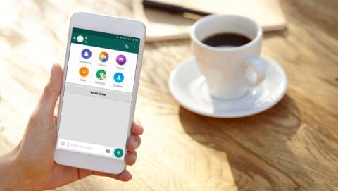 Enviar documentos por WhatsApp en Android